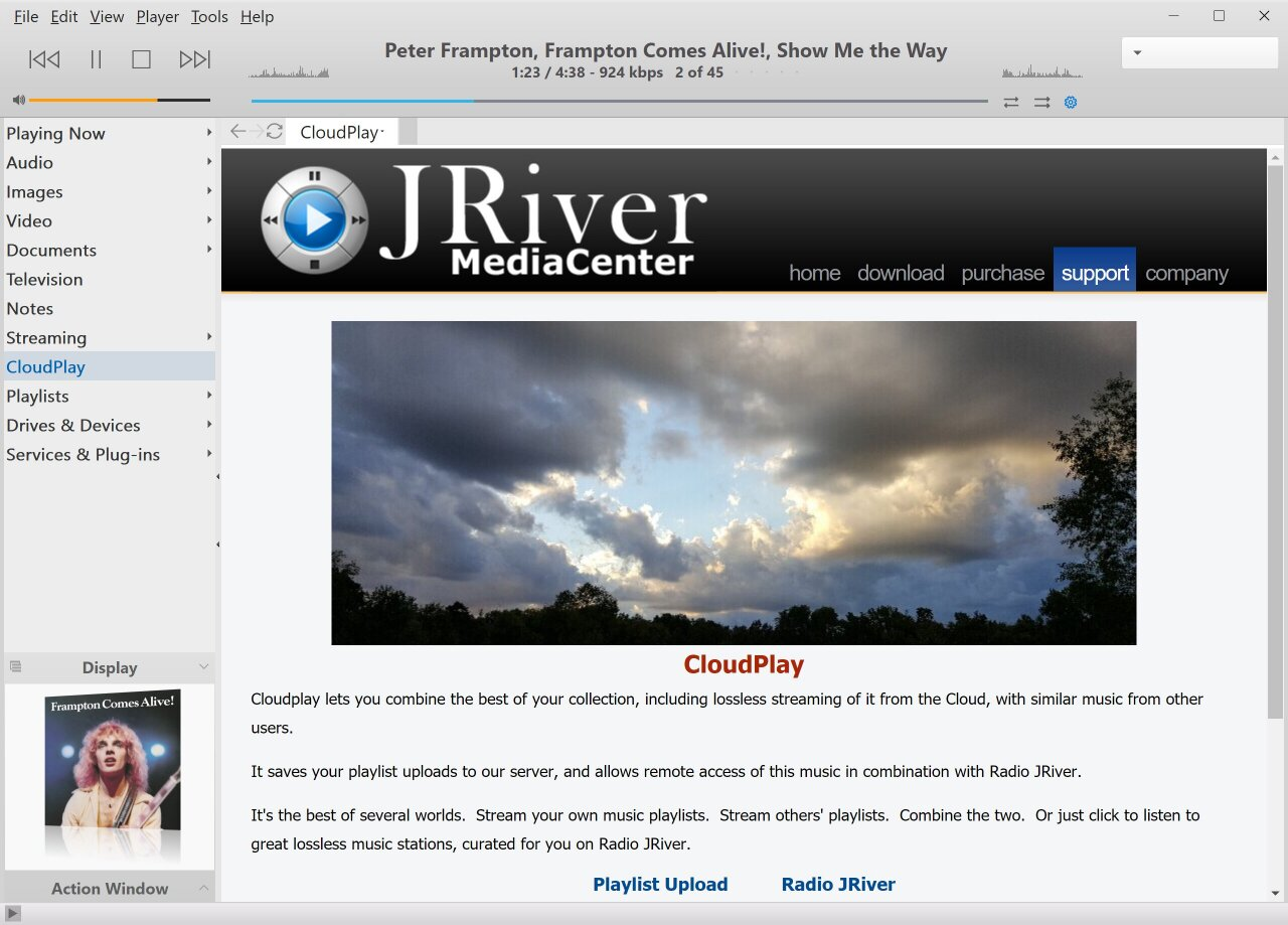 NEW: JRiver CloudPlay